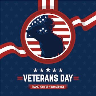 Comemoração do dia dos veteranos