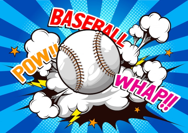 Comic discurso de beisebol