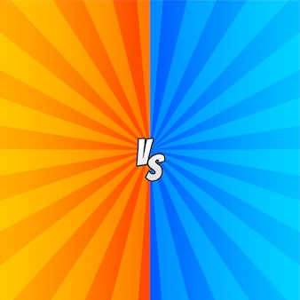 Comic versus com raios de zoom