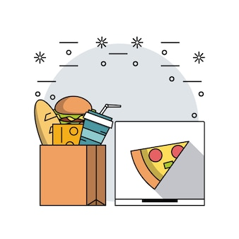 Comida e restaurante