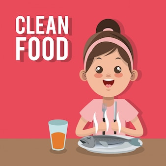 Comida limpa