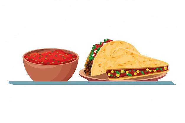 Comida mexicana e cultura tradicional