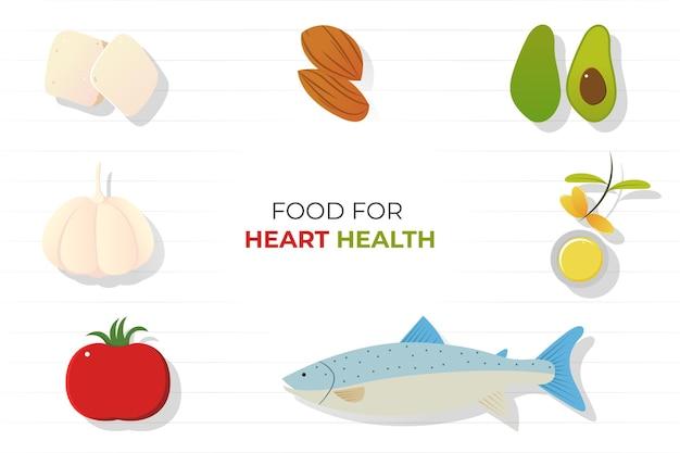 Comida para a saúde do coração