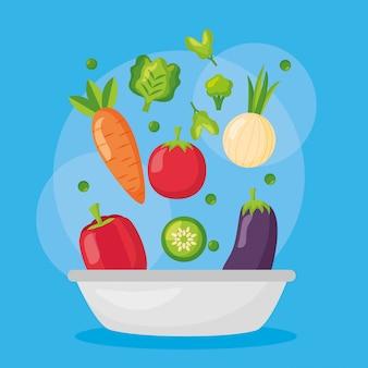 Comida saudável fresca