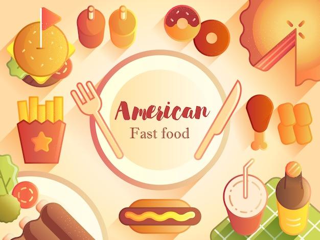 Comidas e bebidas americanas