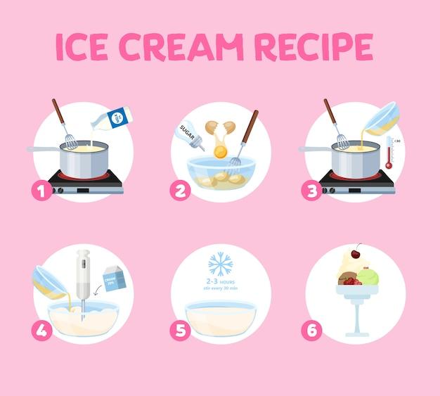 Como fazer sorvete em casa