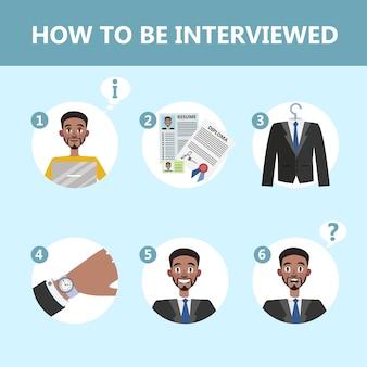 Como se comportar em uma entrevista de emprego.