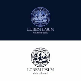 Companhia de logotipos de marinheiro