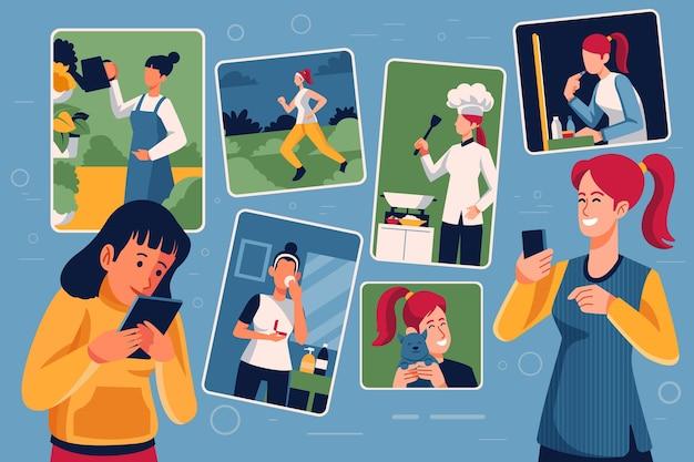 Compartilhando conteúdo nas mídias sociais