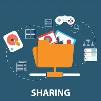 Compartilhar arquivos