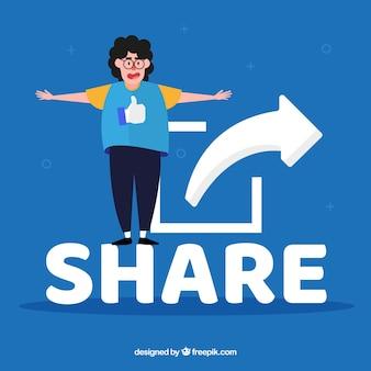 Compartilhar conceito de palavra