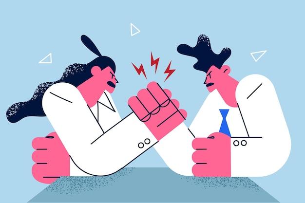 Competição empresarial e conceito de rivalidade