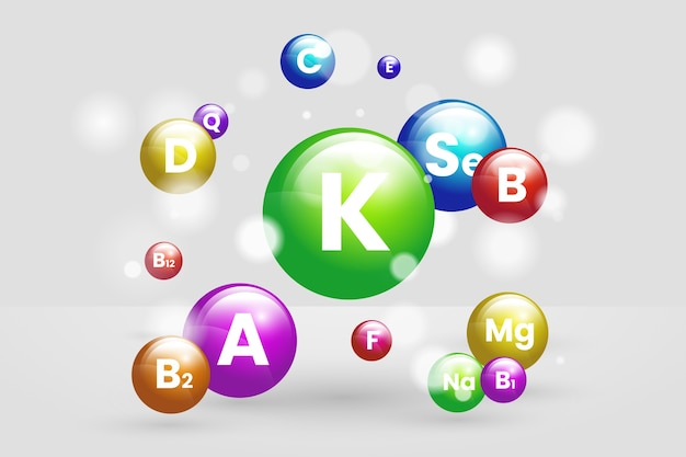 Complexo essencial de vitaminas e minerais