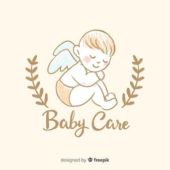 Composição adorável loja de bebê