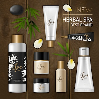 Composição cosmética spa