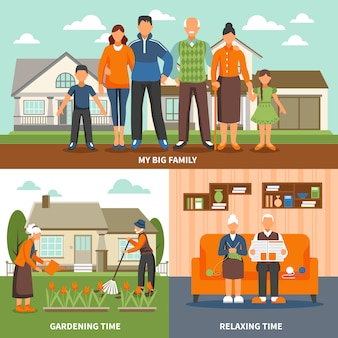 Composição de atividades de pessoas sênior