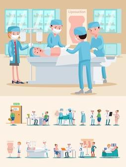Composição de cuidados médicos