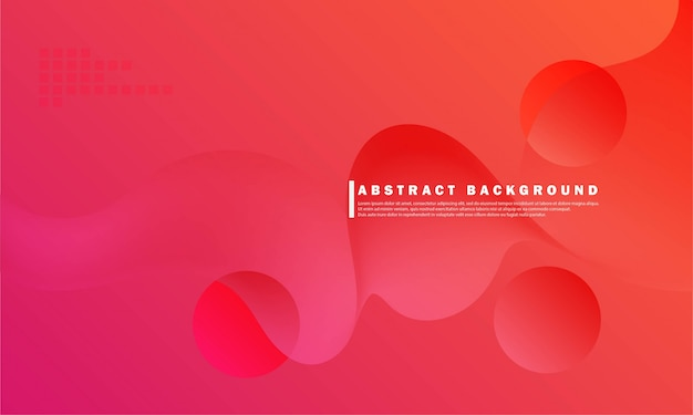 Composição de design de fundo gradiente horizontal