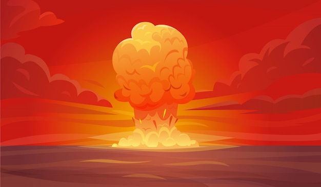Composição de explosão nuclear