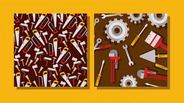 Composição de ferramentas de construção