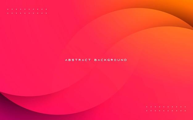 Composição de gradiente suave de fundo abstrato dinâmico