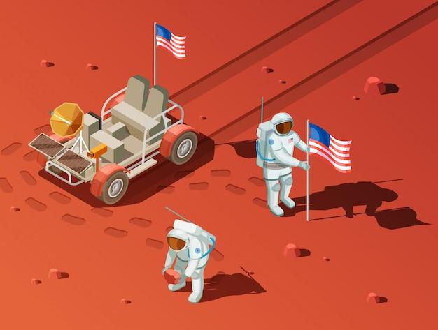 Composição de people on mars