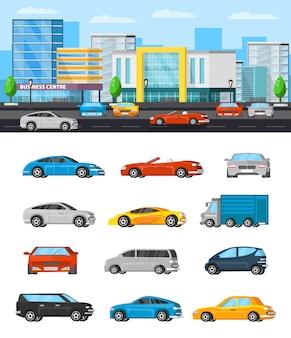 Composição de veículos modernos