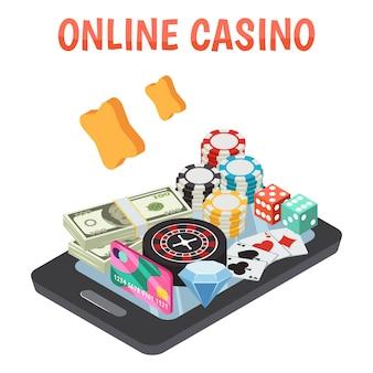 Composição do casino online