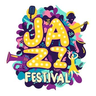 Composição do festival de jazz