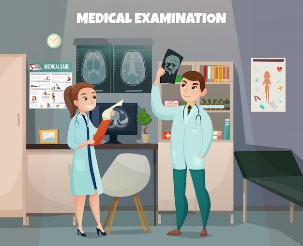 Composição do laboratório de testes clínicos