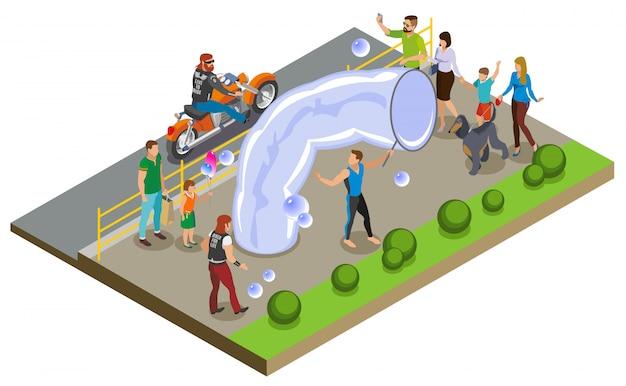 Composição do programa de bolhas