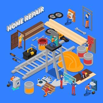 Composição do reparo doméstico