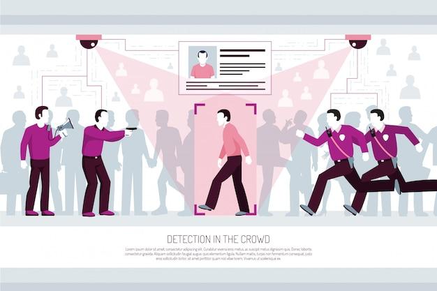 Composição horizontal de tecnologias de identificação