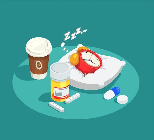 Composição isométrica de drogas hipnóticas