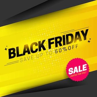 Composição moderna de sexta-feira negra com design abstrato
