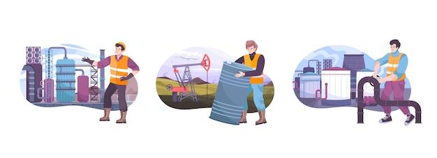 Composições da indústria de petróleo