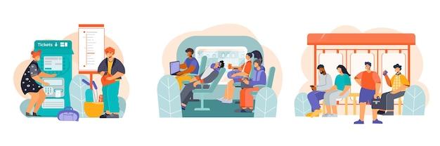 Composições de transporte público