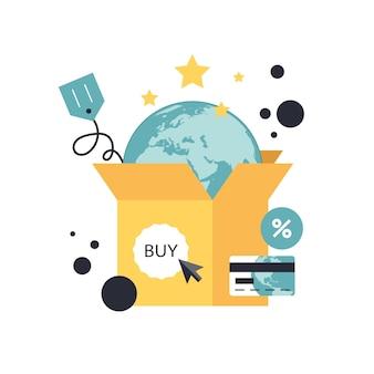 Compra e pagamento online
