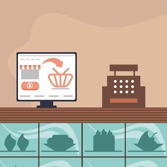 Compra online para pequenas empresas