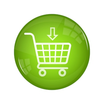 Comprar agora botão para design de banner conjunto de ícones de seta botão redondo