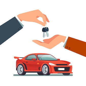 Comprar, alugar um carro esportivo novo ou usado rápido