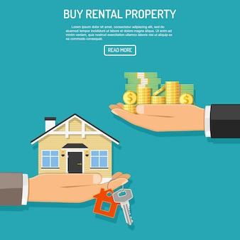 Comprar aluguel de imóveis