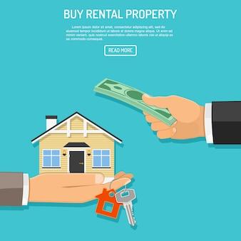 Comprar imóveis para alugar