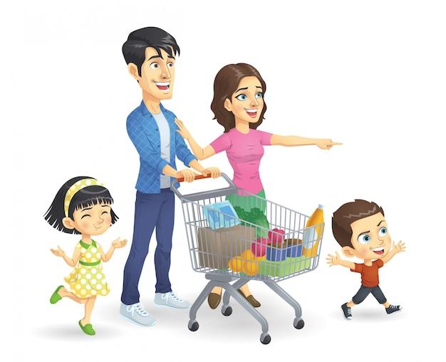Compras em família