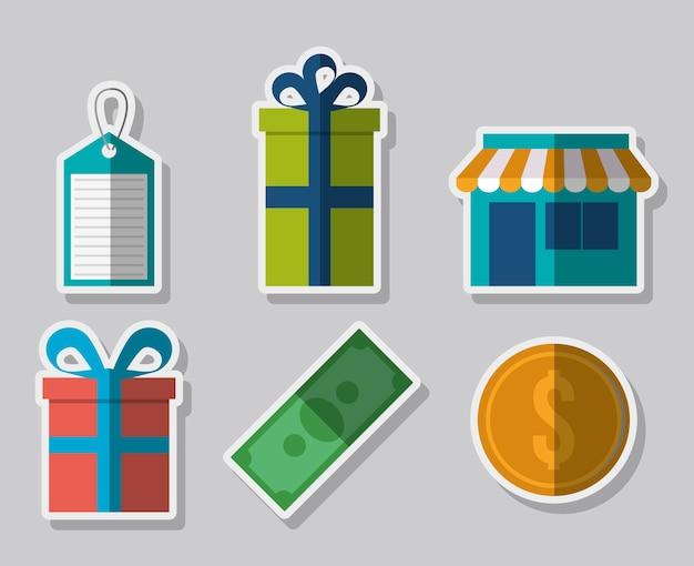 Compras ícones relacionados