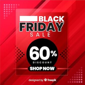 Compre agora gradiente preto sexta-feira banner