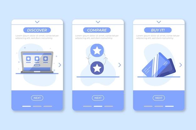 Compre aplicativo de conceito online