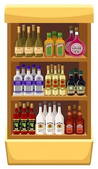 Compre bebidas alcoólicas.