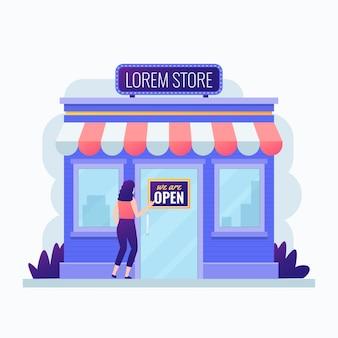 Compre com nós somos sinal aberto