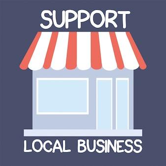 Compre localmente, apoie empresas locais